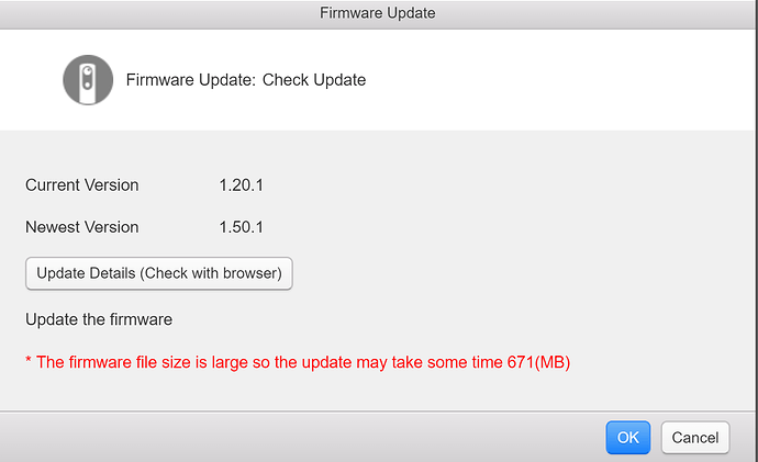 updating versions