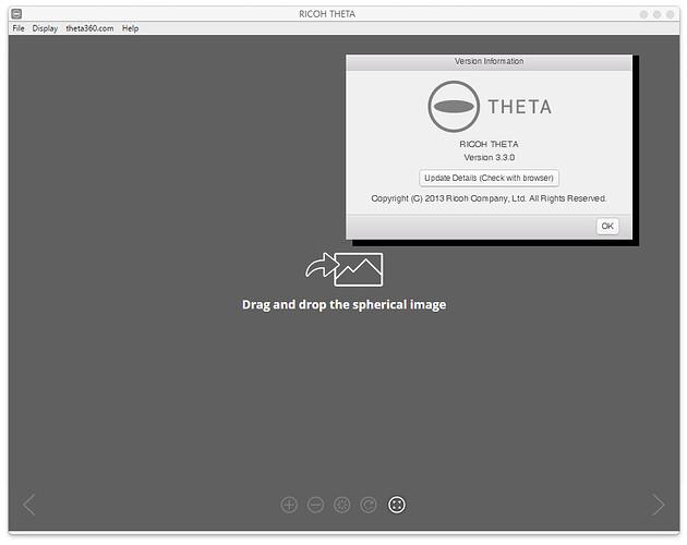 ricoh theta version 3.3.0