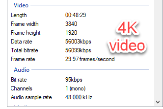 4k Remux Bitrate
