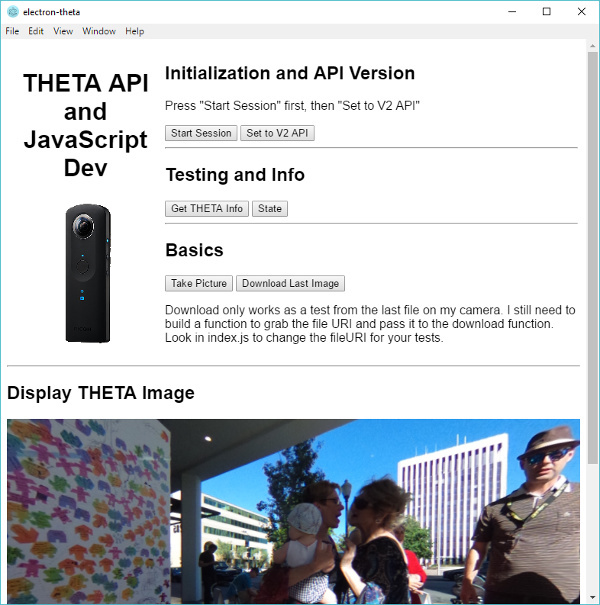 HowTo: Develop 360 Image Desktop Apps with JavaScript and