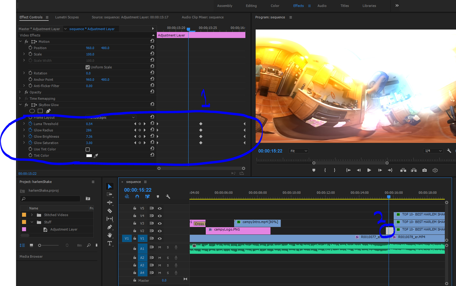 Video Editing: Skybox VR Tools (Premiere Pro Extension) - THETA
