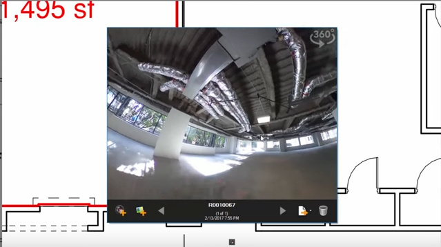 Embed THETA 360 Photos Into Construction Industry Documents