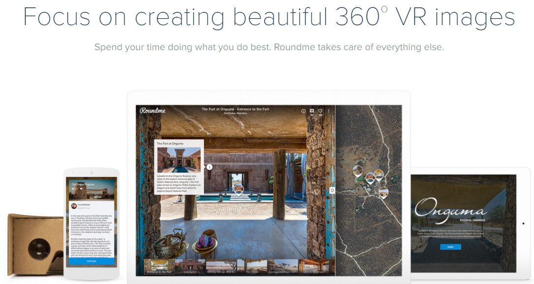 Roundme Tutorial: Create 360 Virtual Tours with THETA Images