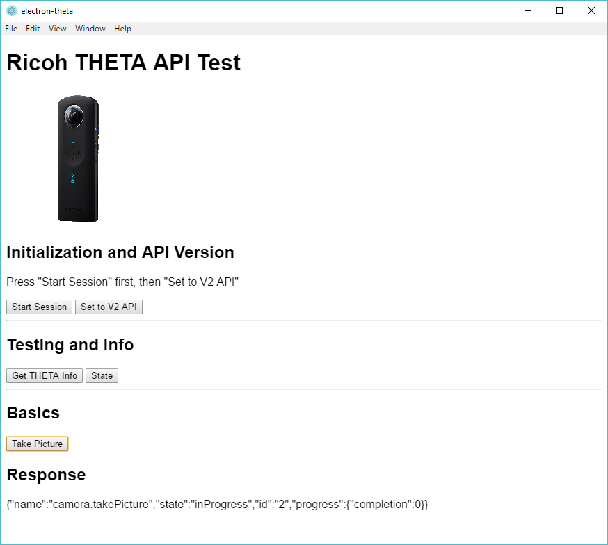 Access THETA S from Angular (browser) with Reverse Proxy