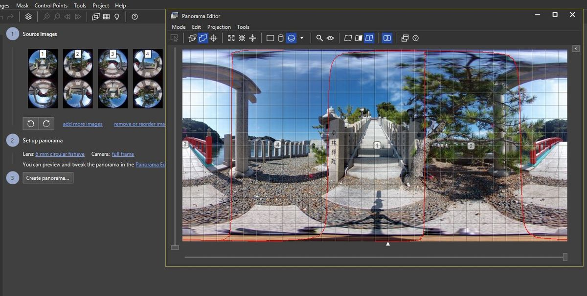 Dual-fisheye Images With THETA V Plug-in - plugin - THETA 360 Developer